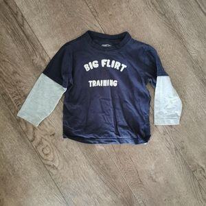 3/$12 Oshkosh B'gosh Boy Long sleeve shirt